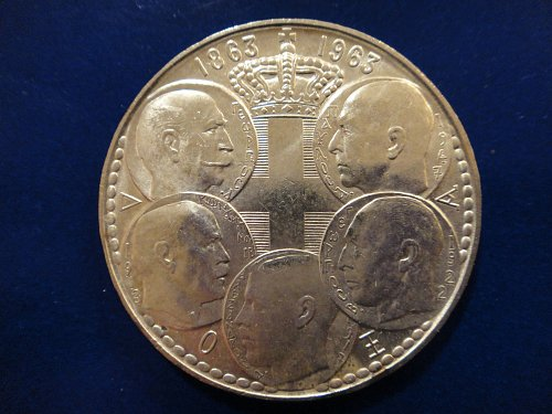 GREECE 30 Drachma 1963 MS-64 (Near Gem) 83.5% SILVER 0.4832 ASW Nice Coin!