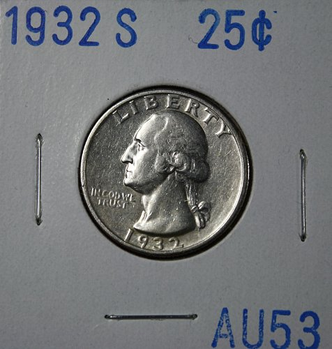 1932 S Washington Quarter