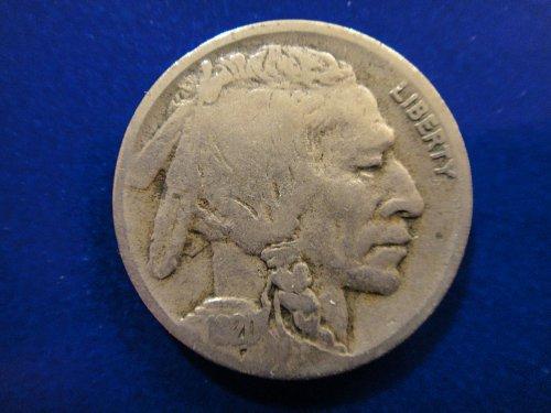 1920-D Buffalo Nickel Fine-12 Nice Pearl Gray Attractive Patina!