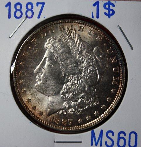 1887 Morgan $1