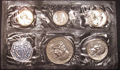 1959 US Mint Silver Proof Set