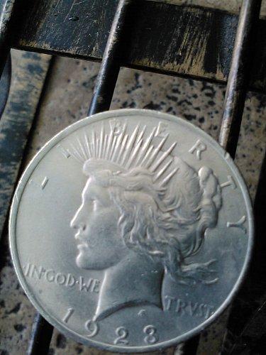 Peace Dollar for sale 1923