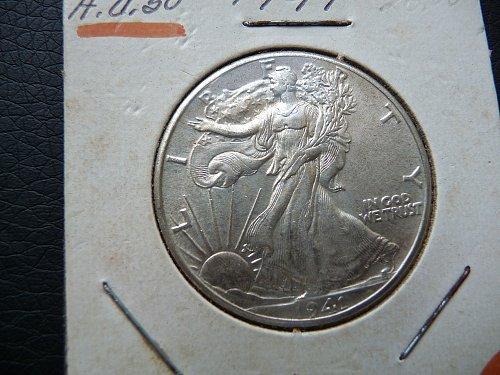 1941 Standing Liberty Half Dollar