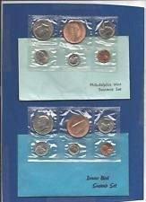 1982   P&D  SOUVENIR MINT SETS  -  10 COINS PLUS  MINT TOKENS