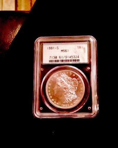 MS -61 Morgan Dollar  1881 S