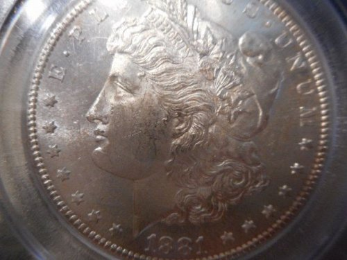 MS -61 Morgan Dollar  1881 S