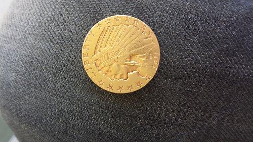 1911 s in Dan head half eagle $5 gold coin