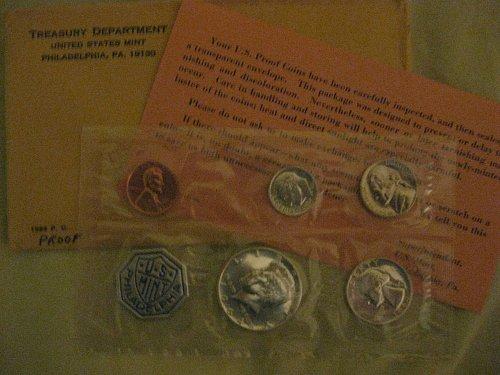 1964 US Mint Silver Proof Set