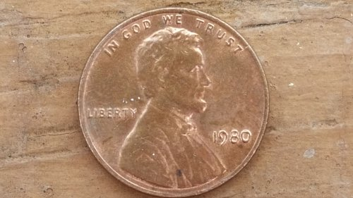1980 DDO LINCOLN CENT