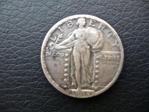 1924 - S Standing Liberty Quarter