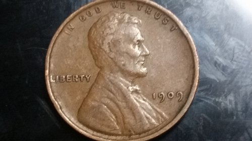 1909 VDB Wheat Cent LOOK AT THE COIN!! NOBODY CAN BEAT THE PRICE FOR THE GRADE!!