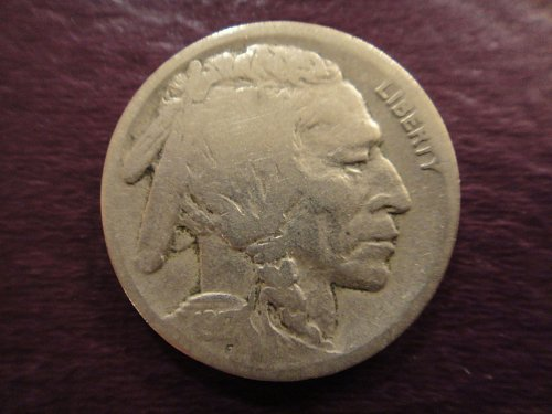 1917-D Buffalo Nickel Nice Strike & Defintion For Grade!
