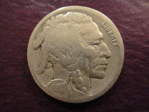 1917-D Buffalo Nickel Nice Strike & Defintion For Grade!