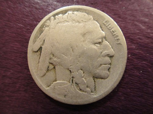 1918-S Buffalo Nickel Very Good-8 Nice Defintion For Grade With Full Date!