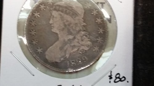 1829 Capped Bust Half