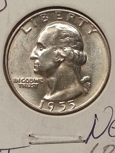 1955-D Washington Quarter