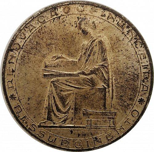 1953 Portugal Moeda Prata 20 Escudos (25th Anniversary Financial Reform) Silver
