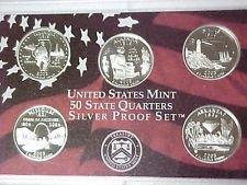 2003 S  SILVER PROOF  MISSOURI  STATE QUARTER