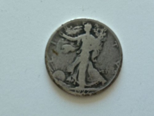 1927 - S Walking Liberty Half Dollar