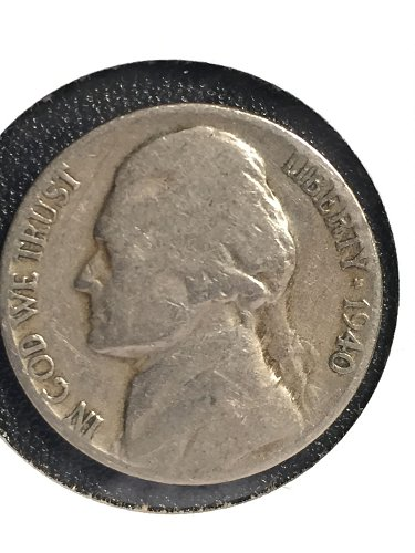 1940 D Jefferson Nickel