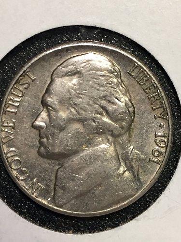 1961 D Jefferson Nickel