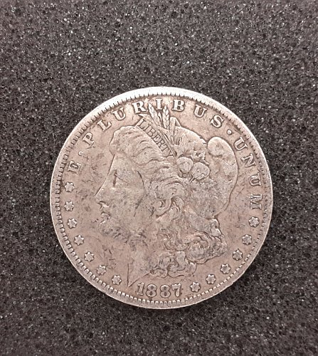 1887 O $1 Morgan Silver Dollar | 100% US Government Issued