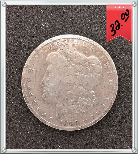 1890 O $1 Morgan Silver Dollar | 100% US Government Issued