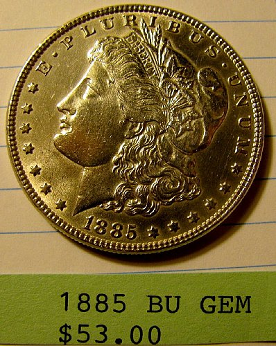 85'Silver Dlr. BU win1st' 9% discount on 2nd Dlr @Pay Pal!-British coins?  WW 1