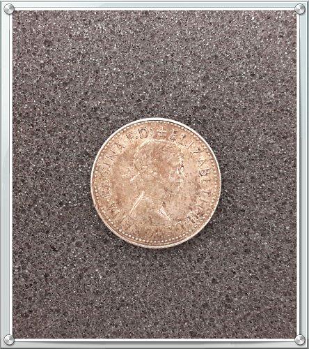 1960 Australia Shilling Silver Coin