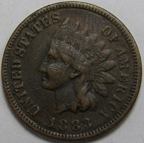 1883 Indian Head Cent #11