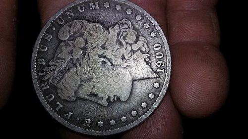 Good 1900 Circulated Morgan Silver Dollar O