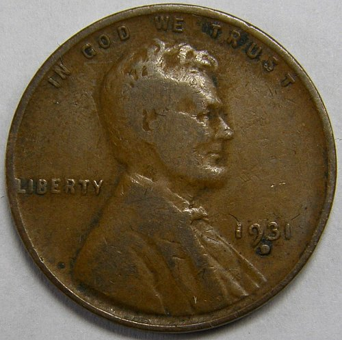 1931 D Lincoln Wheat Cent #5