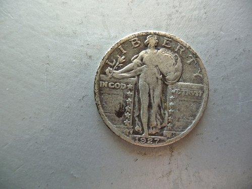 1927 -D Standing Liberty Quarter