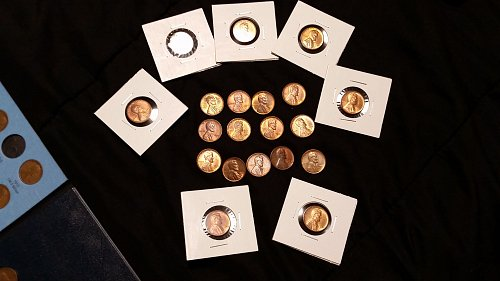 20-Uncirculated 50's Wheat Pennies