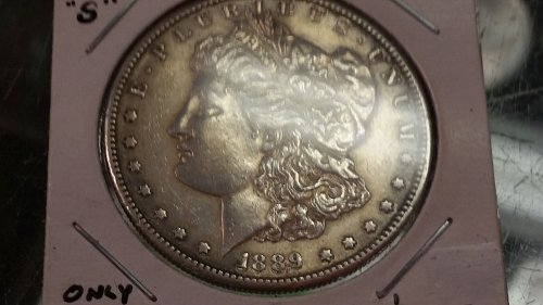 1889 S Morgan  Dollar