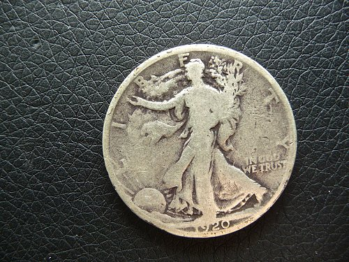 1920 Walking Liberty Half Dollar