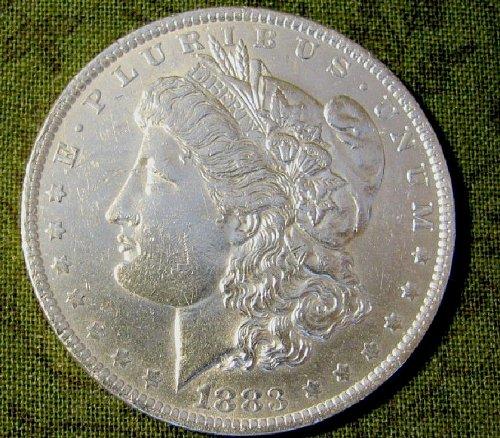 1883-O Morgan Dollar win 1; get 2nd Morgan Now 9% discount @ Pay Pal  !!!!