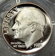1983 S  PROOF  ROOSEVELT DIME