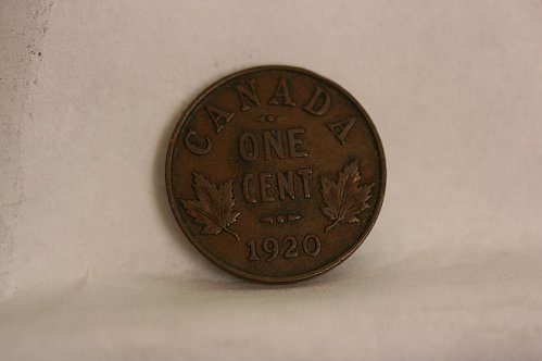 1920 canada small cent