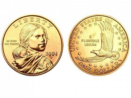 2004 D Sacagawea Dollar