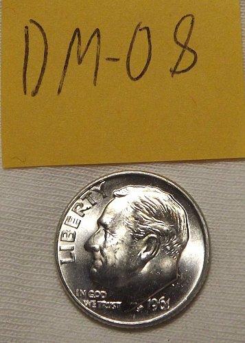 1961-D Roosevelt Silver Dime Uncirculated/BU; Check Photos! (*OBW COIN*) DM-08