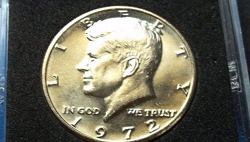 1972 Kennedy Half