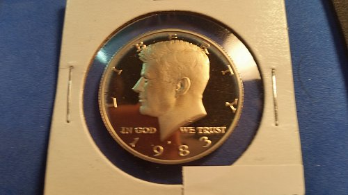 1983 S Proof Kennedy