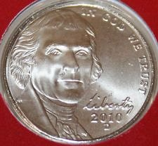 2010  D  JEFFERSON NICKEL
