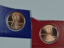 2013 P & D LINCOLN CENTS