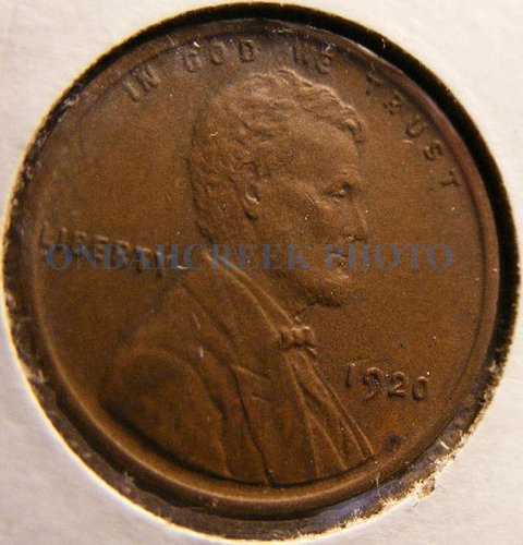 1920 Choice Extra Fine Lincoln Cent Wheat Penny
