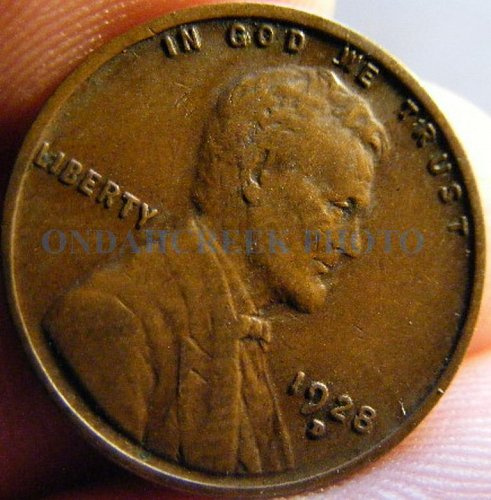 1928-D Very Fine Lincoln Cent Wheat Penny