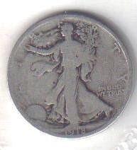 1918 P   WALKER HALF DOLLAR