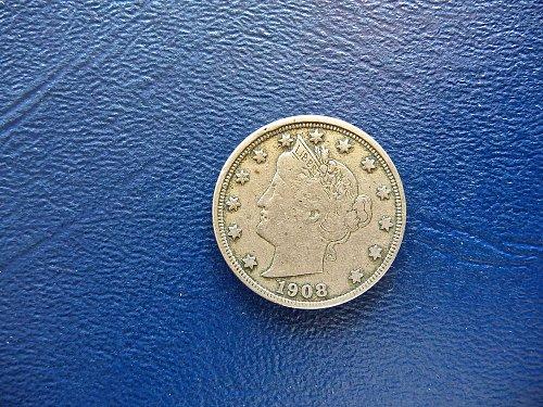 1908 Liberty Head Nickel