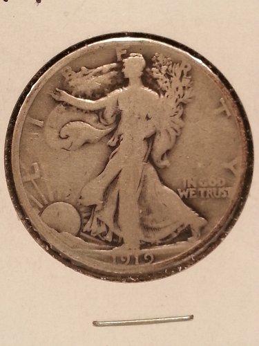 1919 Walking Liberty Half